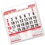 Refil Calendário de Parede 2022 | 21x21cm | Sulfite 56g | Arte Padrão | Impressão 2 Cores Frente | P110