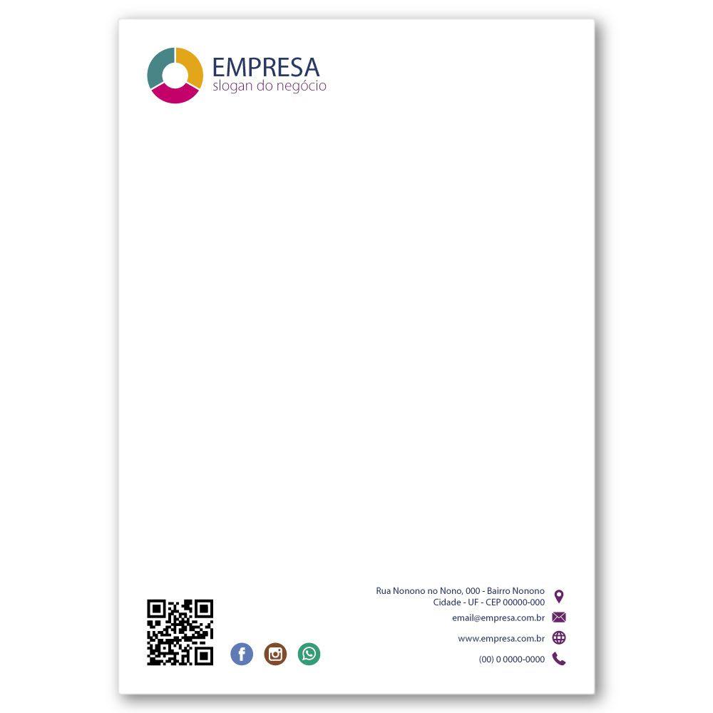 Envelope Saco | 24x34cm | Sulfite 90g | Impressão Colorida Frente (Fechado)
