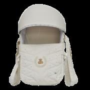 Mini Berço Para Bebê Magia E Fantasia Bege Menino