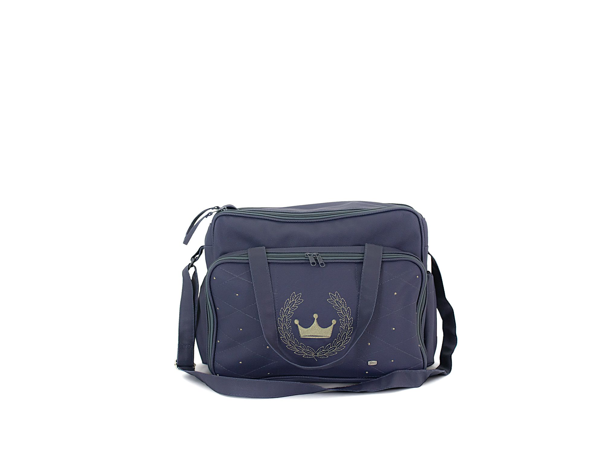 Bolsa Com Trocador Para Bebê Magia E Fantasia Azul Marinho