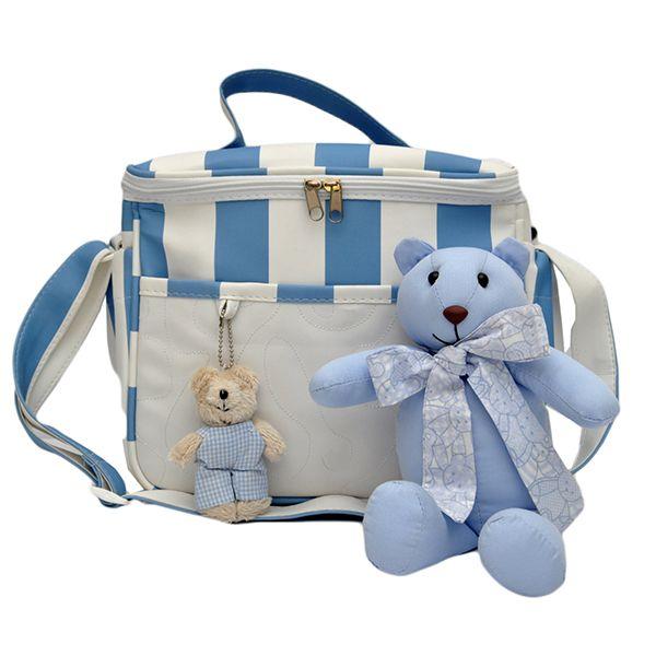 Frasqueira Térmica Magia E Fantasia Azul Urso