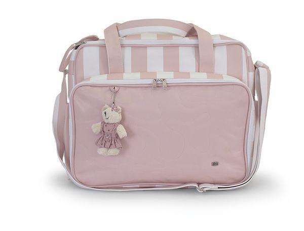Kit Bolsa Maternidade Magia E Fantasia 3 Peças Rosê Ursa