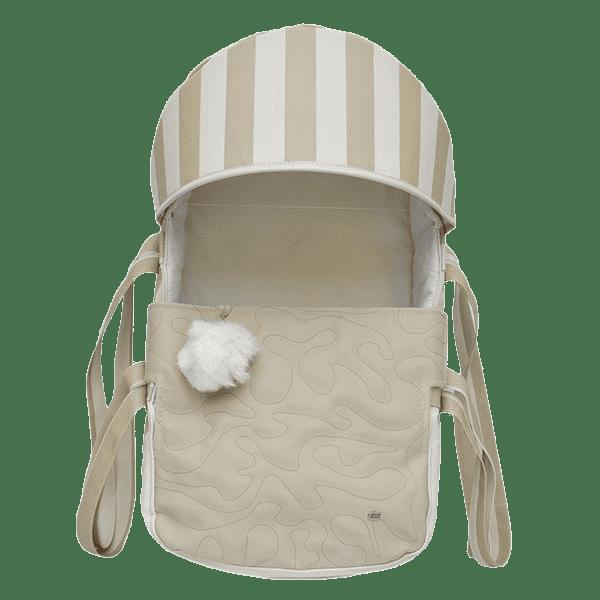 Mini Berço Para Bebê Magia E Fantasia Bege Pompom