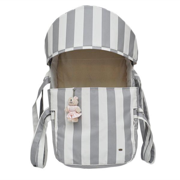 Mini Berço Para Bebê Magia E Fantasia Cinza Menina