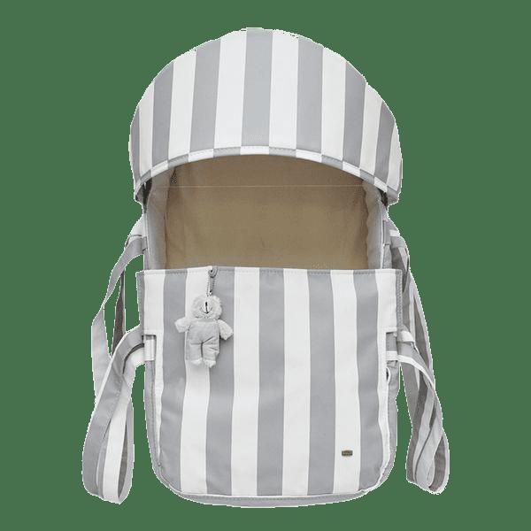Mini Berço Para Bebê Magia E Fantasia Cinza Urso