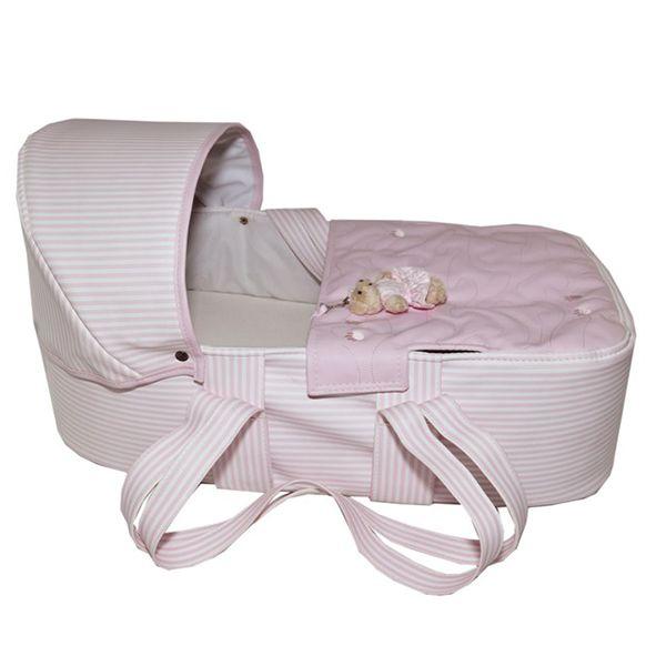 Mini Berço Para Bebê Magia E Fantasia Rosa Patinhas