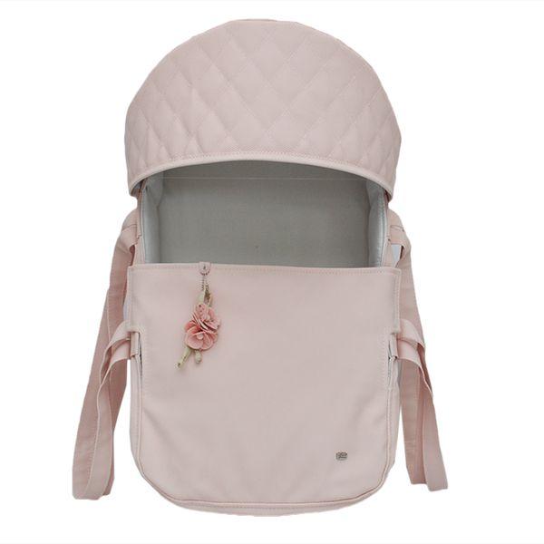Mini Berço Para Bebê Magia E Fantasia Rosê Flor