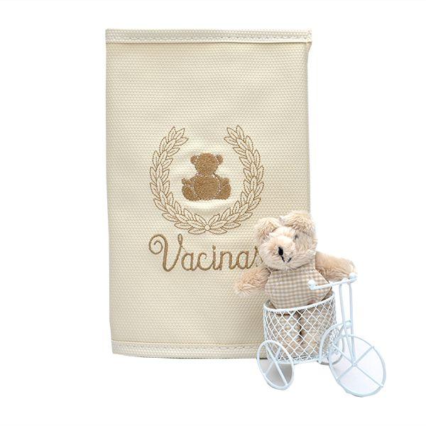 Porta Cartão Vacina Magia E Fantasia Bege Gut Bege