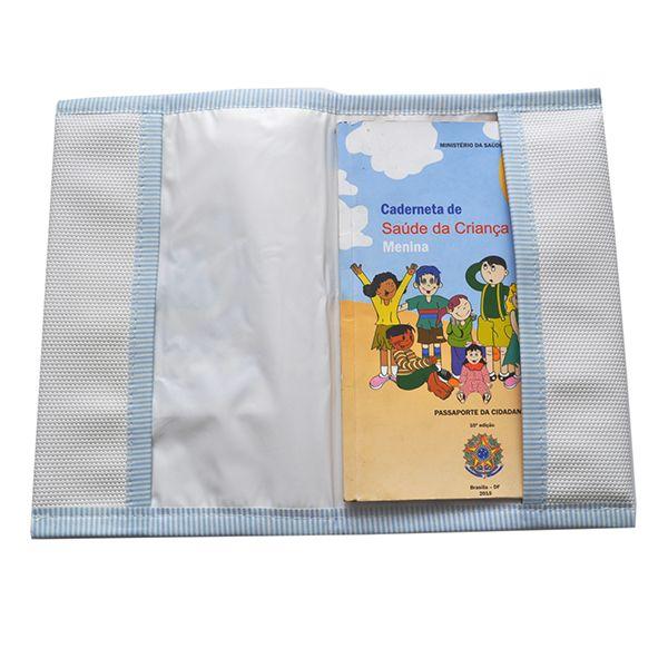 Porta Cartão Vacina Magia E Fantasia Branco Gut Azul