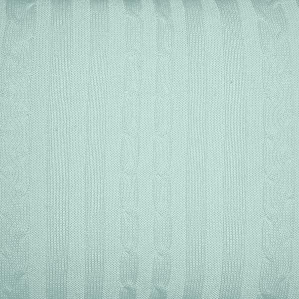 Rolo Lateral Tricot Magia E Fantasia Trança Verde Claro