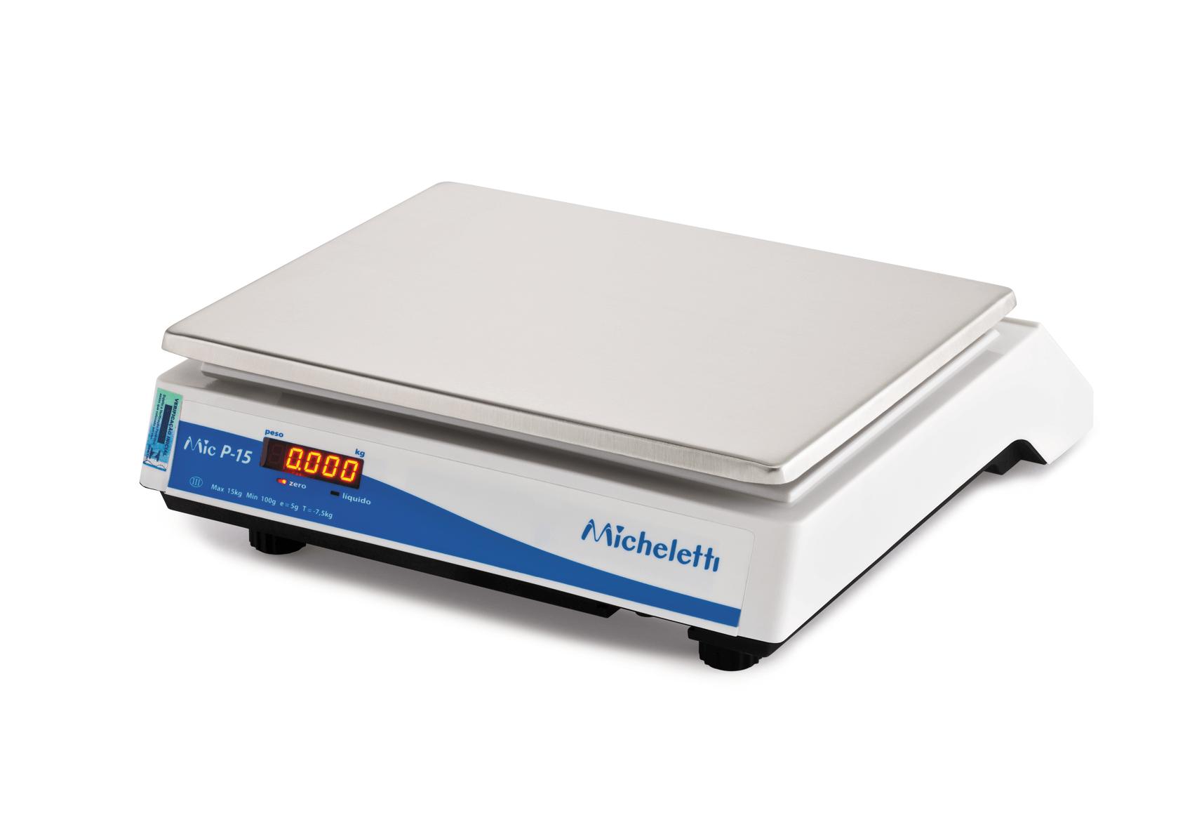 Balança Computadora com Impressora PRIMA Micheletti 15KG Ethernet