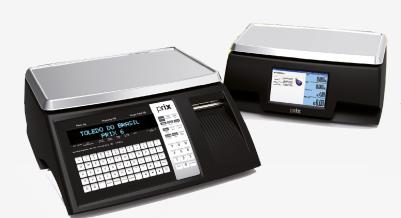 Balança computadora com impressora integrada Toledo Prix 6 30KG Ethernet e Wi-Fi