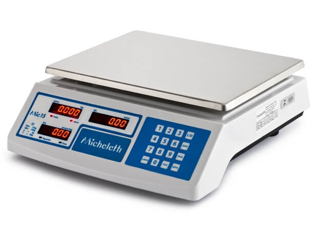 Balança Computadora MIC15 Micheletti 15KG USB