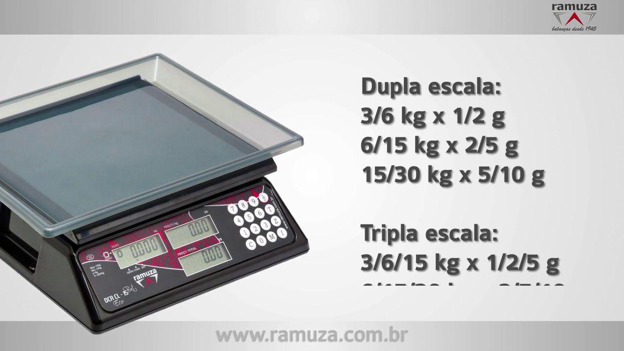 Balança Computadora Ramuza – Modelos DCR