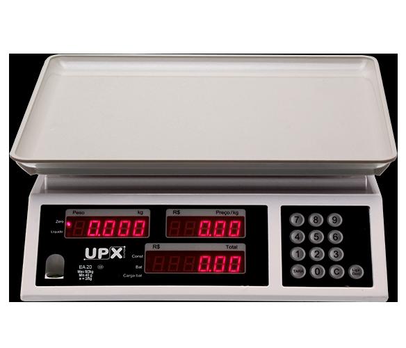 Balança eletrônica computadora UPX EA-20 20KG