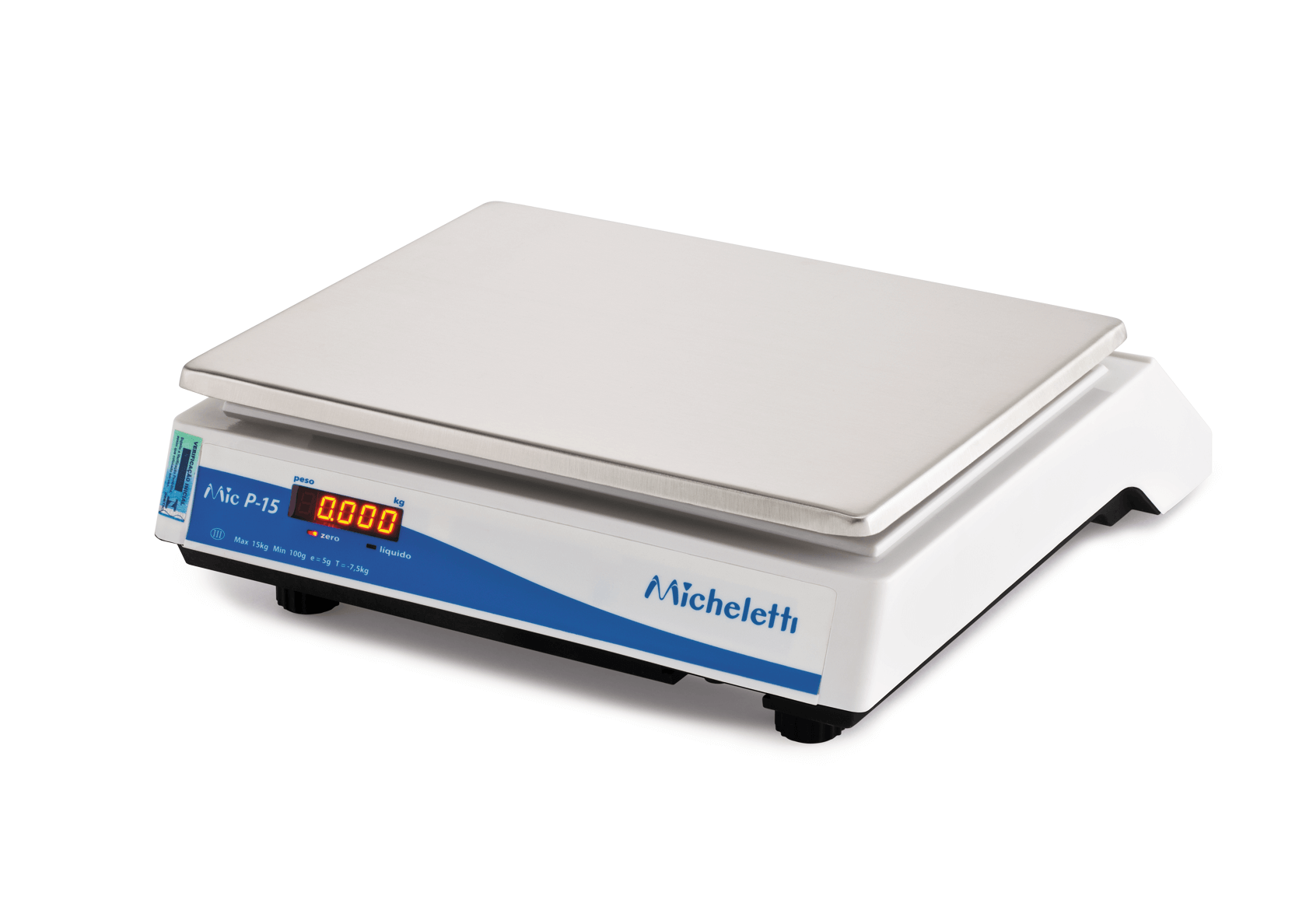 Balança Eletrônica Pesadora P15 Micheletti 15KG RS-232