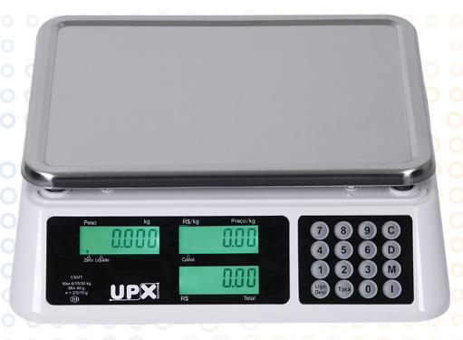 Balança Eletrônica Wind C 30Kg Branca UPX