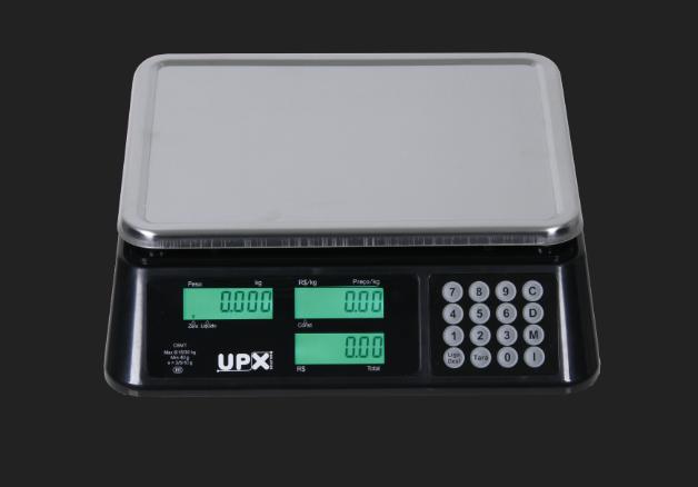 Balança Eletrônica Wind C 30Kg Preta UPX