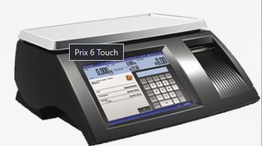Balança touch computadora com impressora integrada Prix 6 Touch 15 KG