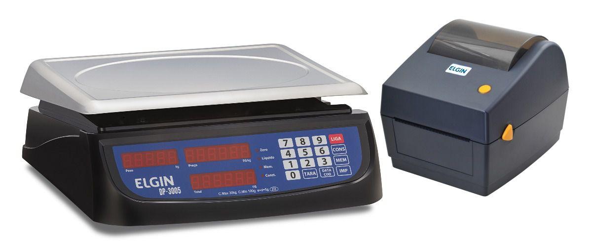 Balanças DP com Impressora L42DT Elgin
