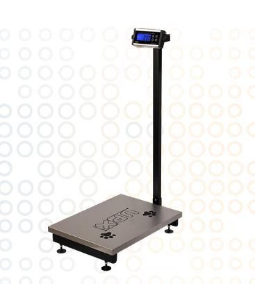 Balanças Eletrônica Blue One Pet Com Coluna 150Kg UPX