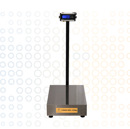 Balanças Eletrônica Blue One Premium Com Coluna 300Kg UPX