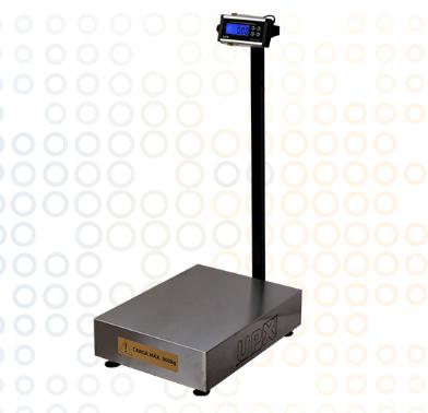 Balanças Eletrônica Blue One Premium Com Coluna 60Kg UPX