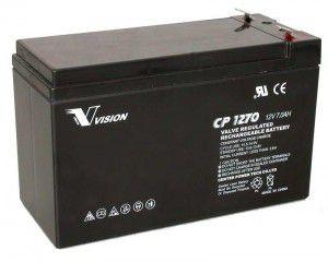 Baterias 12V/ 7A Unipower