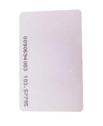 Cartão de Proximidade 125 KHZ TK4100