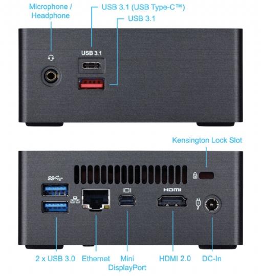 Computador EAGLE 2 - POS552-7223 - Core I5 3.40GHz 8250U/ 4GB/ SSD120GB/ WiFi PosTech