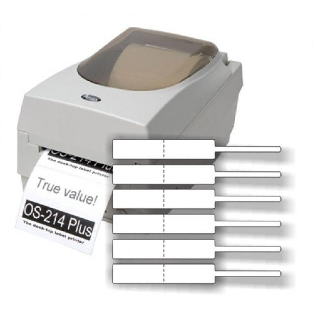 Etiqueta Adesiva Joia Fix 11 x 95 mm, em Filme BOPP, Uso Manual ou em Impressoras Térmicas