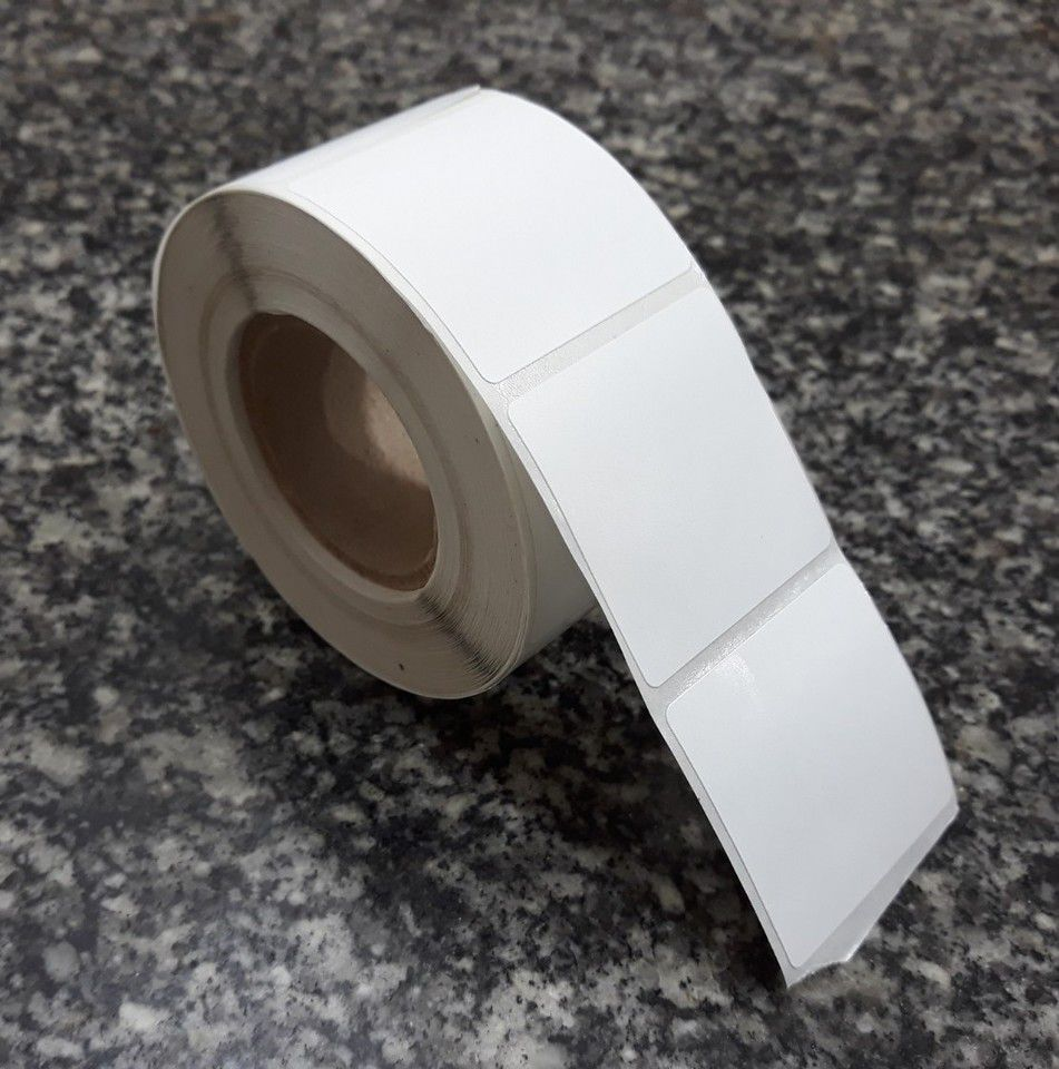Etiqueta Adesiva Térmica, 40 x 40 mm, para Balanças