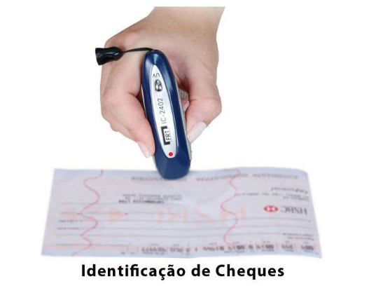 Identificador de Notas Falsas e Cartões de Crédito Falsos IC2402 FRT