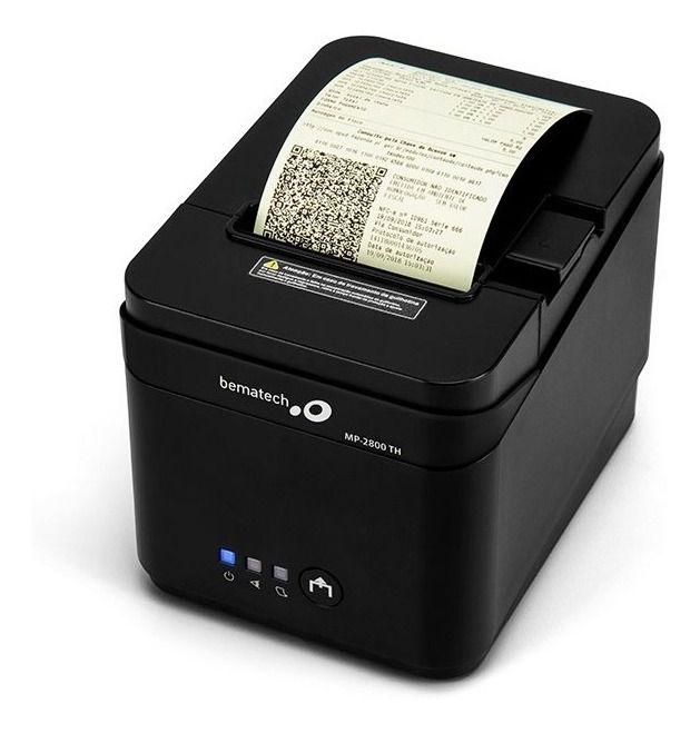 Impressora Térmica Não Fiscal Bematech MP-2800 TH Guilhotina USB / Serial / Ethernet