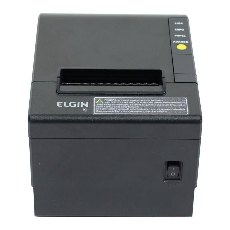 Impressora térmica não fiscal Elgin i9 USB com Guilhotina - USB + Ethernet