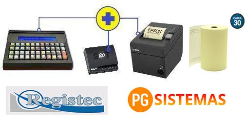 Kit PDV Microterminal Inteligente SAT Fiscal - Ifox Livre de Mensalidade