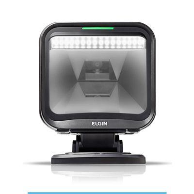 Leitor de código de barras 2D Elgin EL5220 fixo com suporte