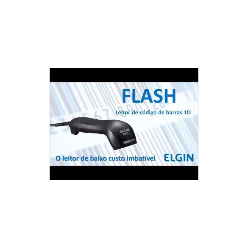 Leitor de código de barras Elgin Flash - USB