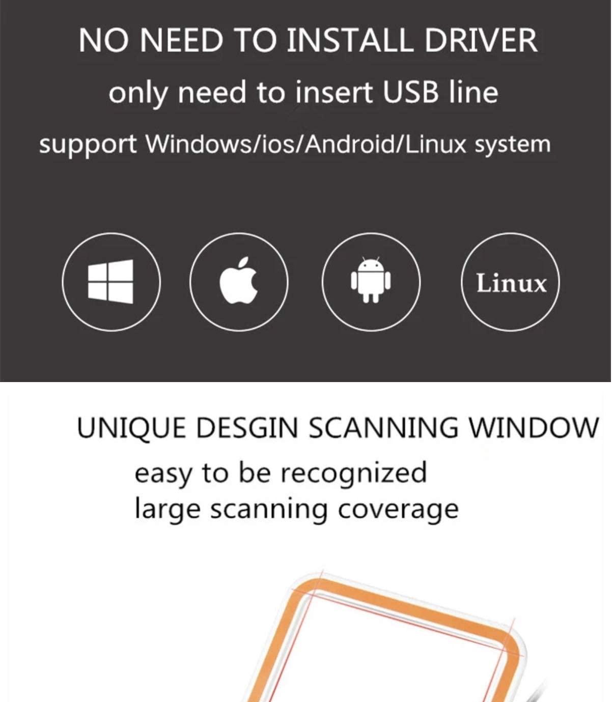 Leitor de Código de Barras SunMI Blink USB