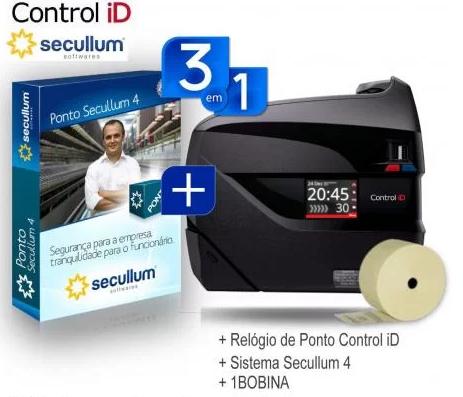 Locação Relógio Ponto Biométrico iDClass - Mensalidade