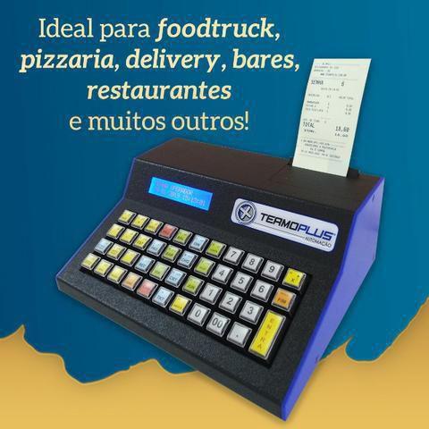 Microterminal Termoplus  Júnior MAIS Versões: Restaurante/Similares, Sorveteria, Motel e Estacionamento.