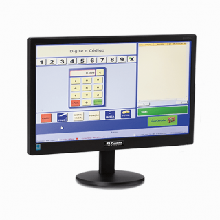 "Monitor LED Widescreen 18.5"" Sweda"