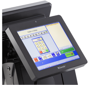 """Monitor Touch Screen LCD 15"""" Sweda SMT-200"""