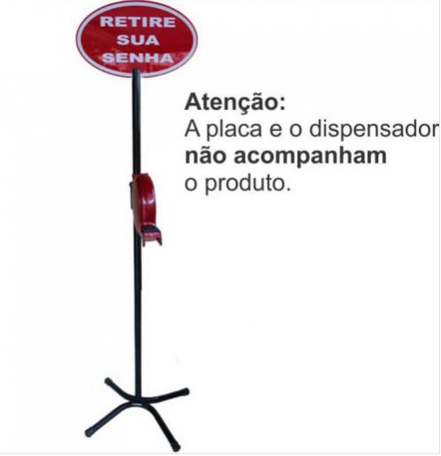 Pedestal para Dispensador de Senhas