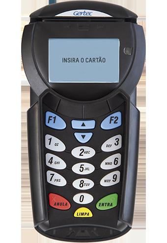 PinPad Criptografado Gertec PPC910 - USB e Serial