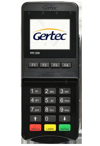 PinPad Criptografado Gertec PPC930 - USB e Serial