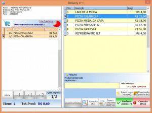 Software Mobility Gestão Delivery para Pizzaria
