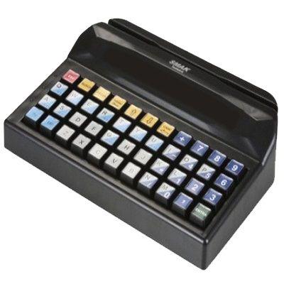 Teclado óptico programável para frente de caixa (PDV) com 44 teclas