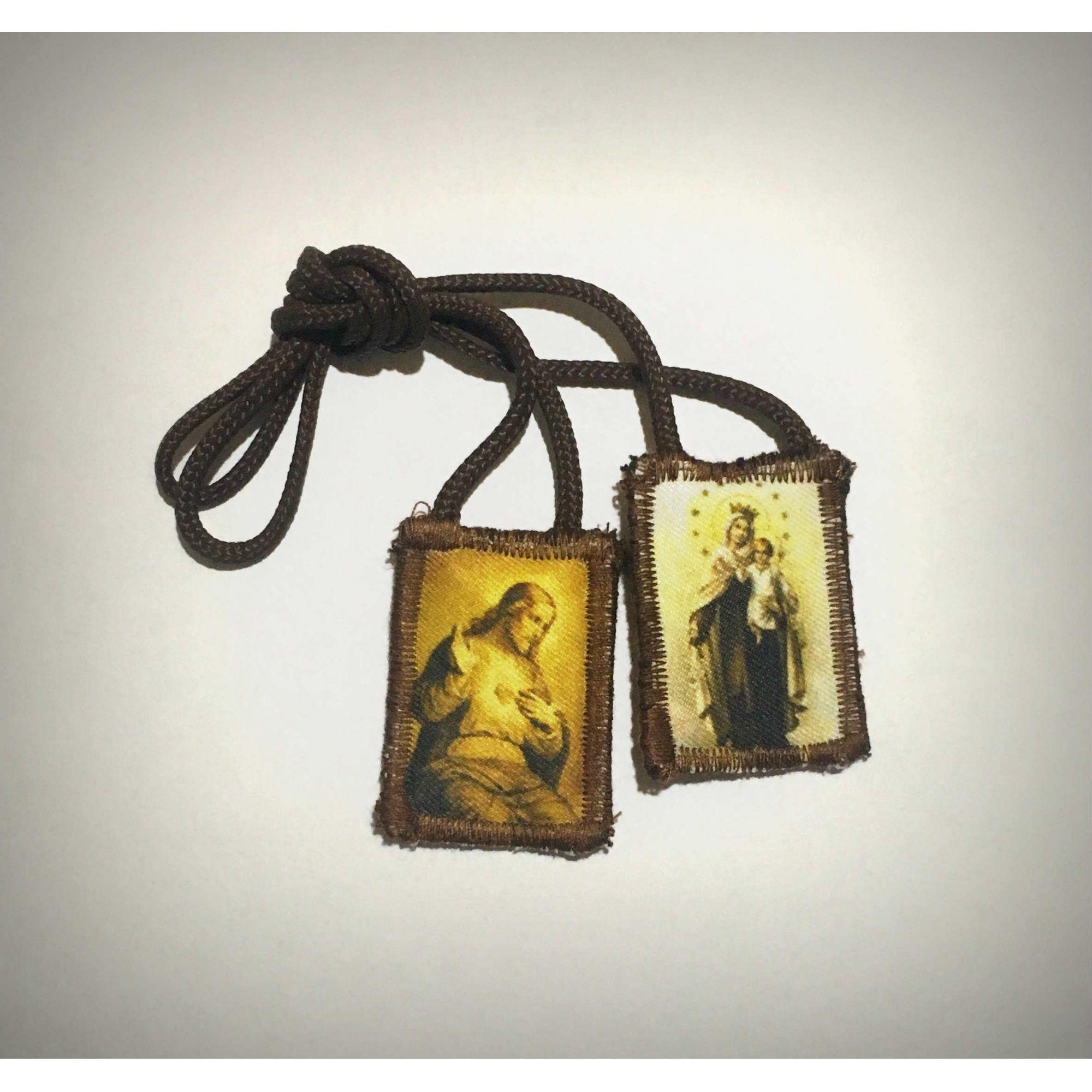 Escapulário de Nossa Senhora do Carmo  - Livraria Santa Cruz