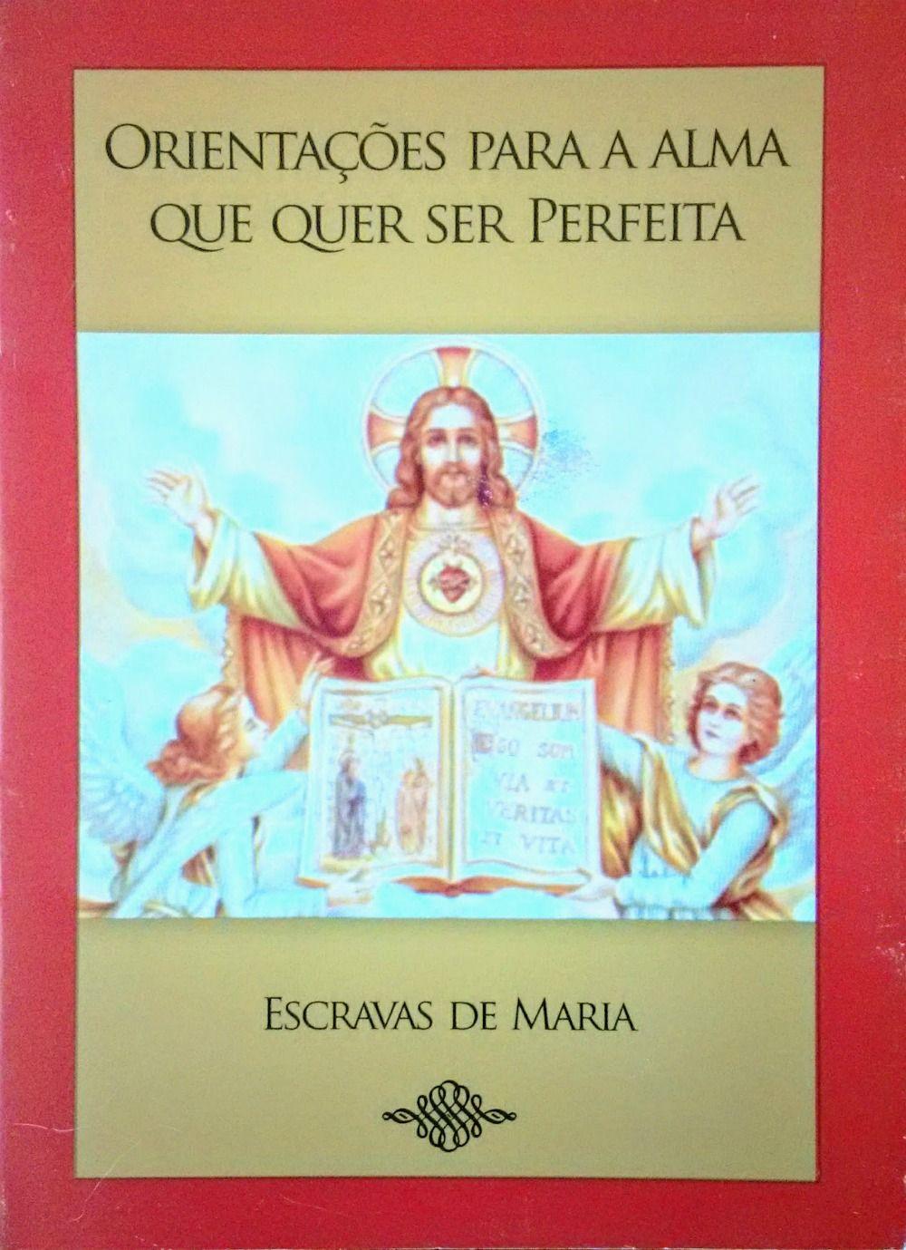 Orientações Para a Alma Que Quer Ser Perfeita - A. M. D. G.  - Livraria Santa Cruz
